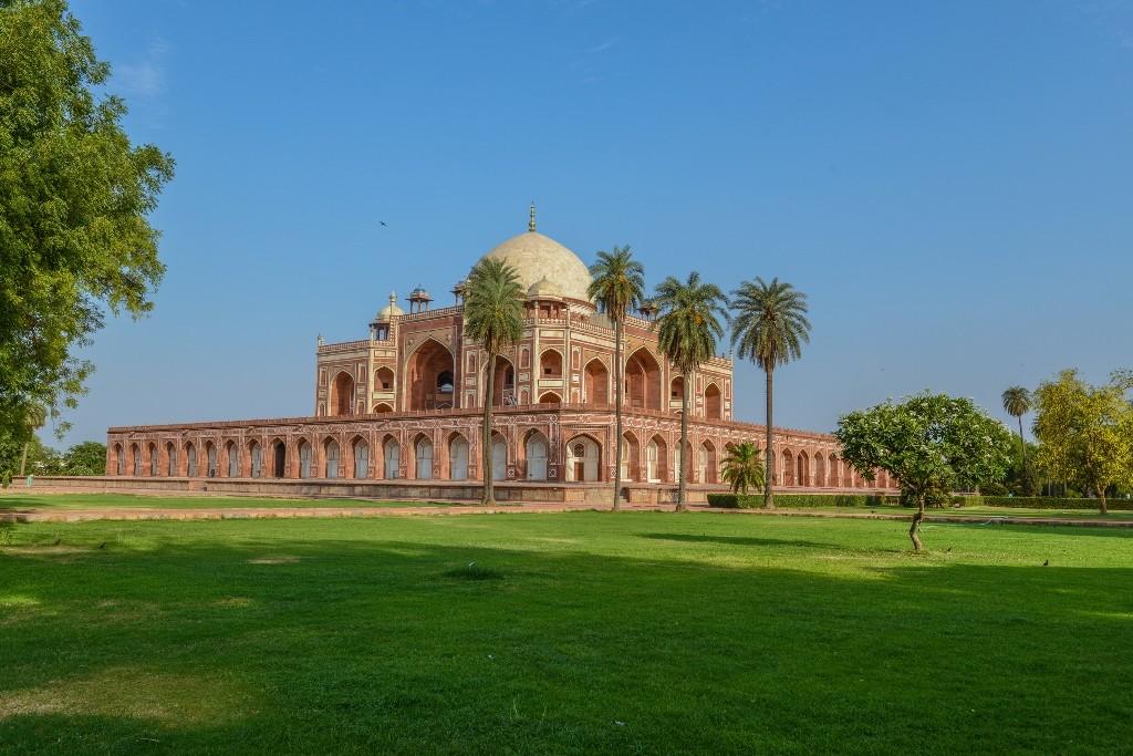 Revealed Humayun's Tomb