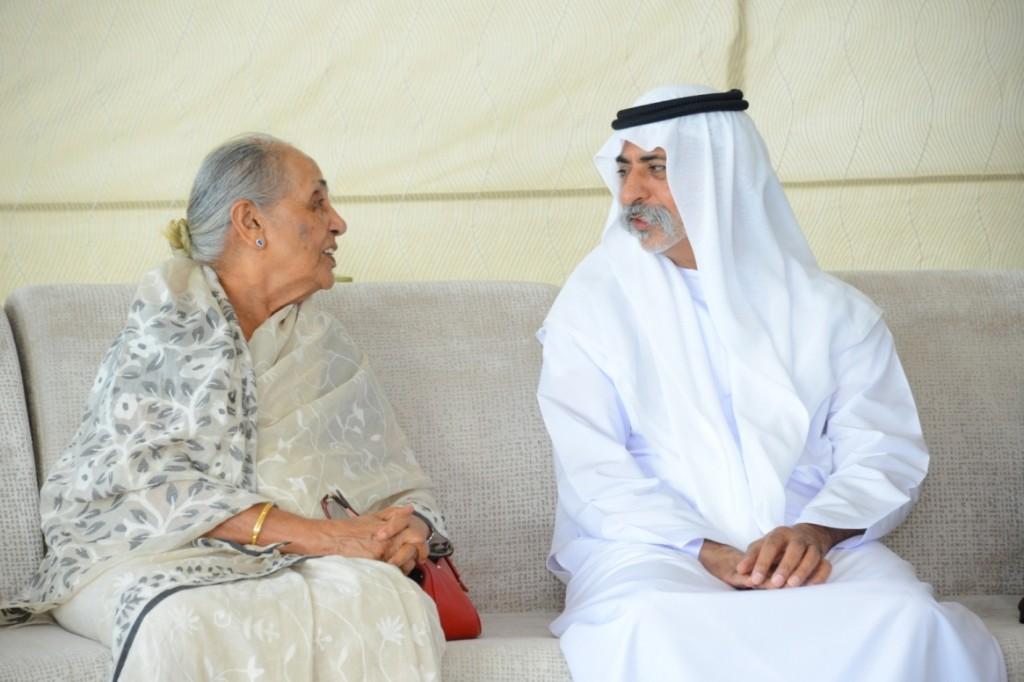 HE Sheikh Nahyan Bin Mubarak Al Nahyan and Dr. Zulekha Daud