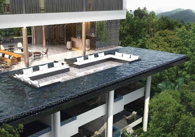 Aiana Munnar - A Moonriver Resort - Lobby outside view