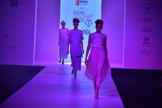Model showcasing Next Gen Designer Shipra Singh's Collection