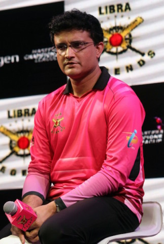 Kolkata: CAB President Sourav Ganguly during a programme in Kolkata, on Jan 12, 2016. (Photo: IANS)