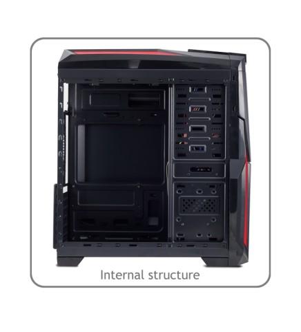 H2-internal structure