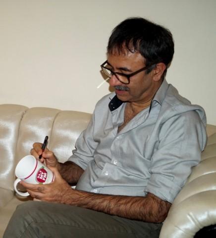 Rajkumar Hirani with My FM