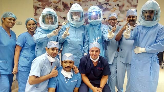 Orthopaedic surgery team