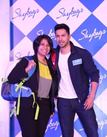 Radhika Piramal Managing Director V.I.P Industries with Skybags Brand Ambass_