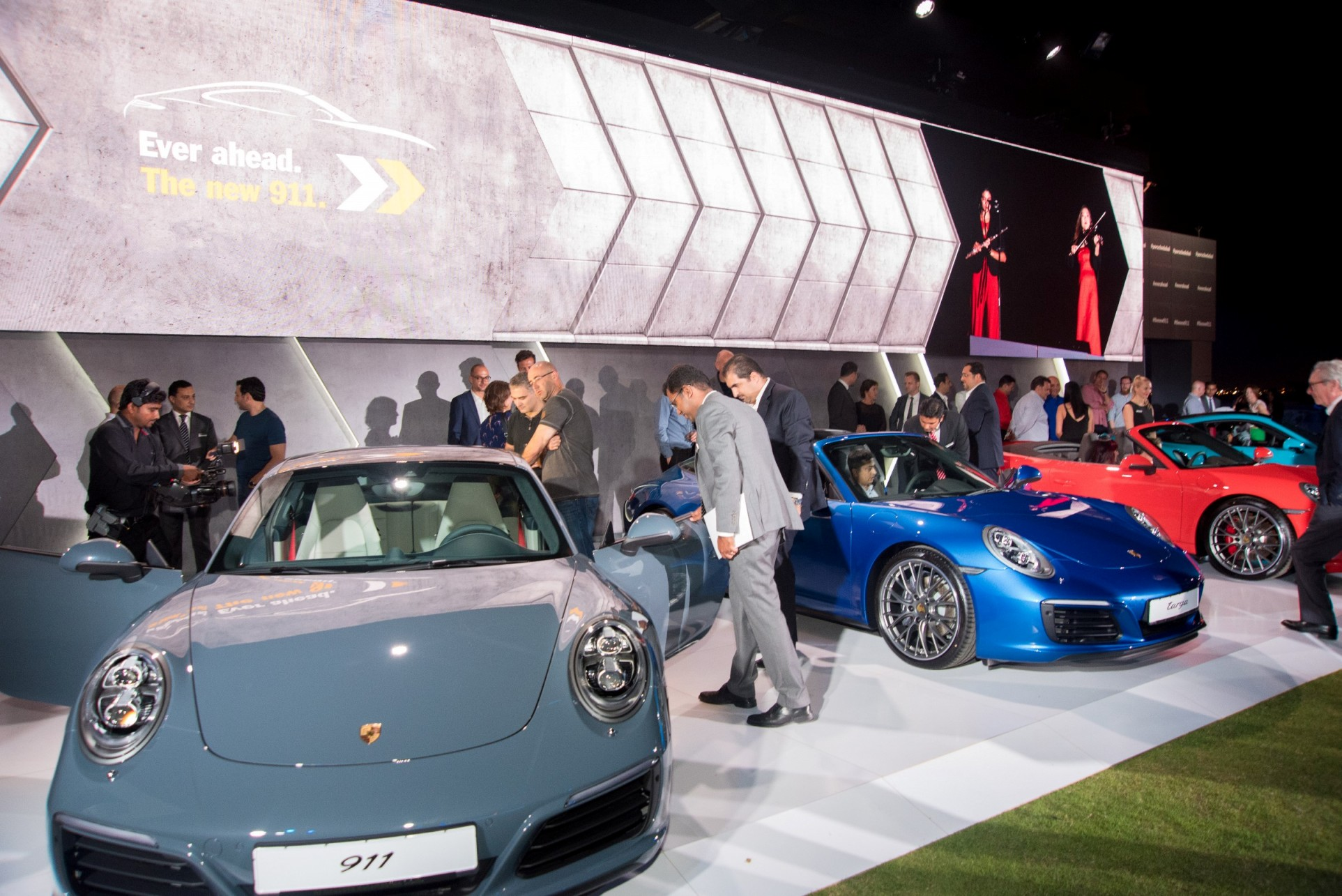 Guests invited to check out new Porsches