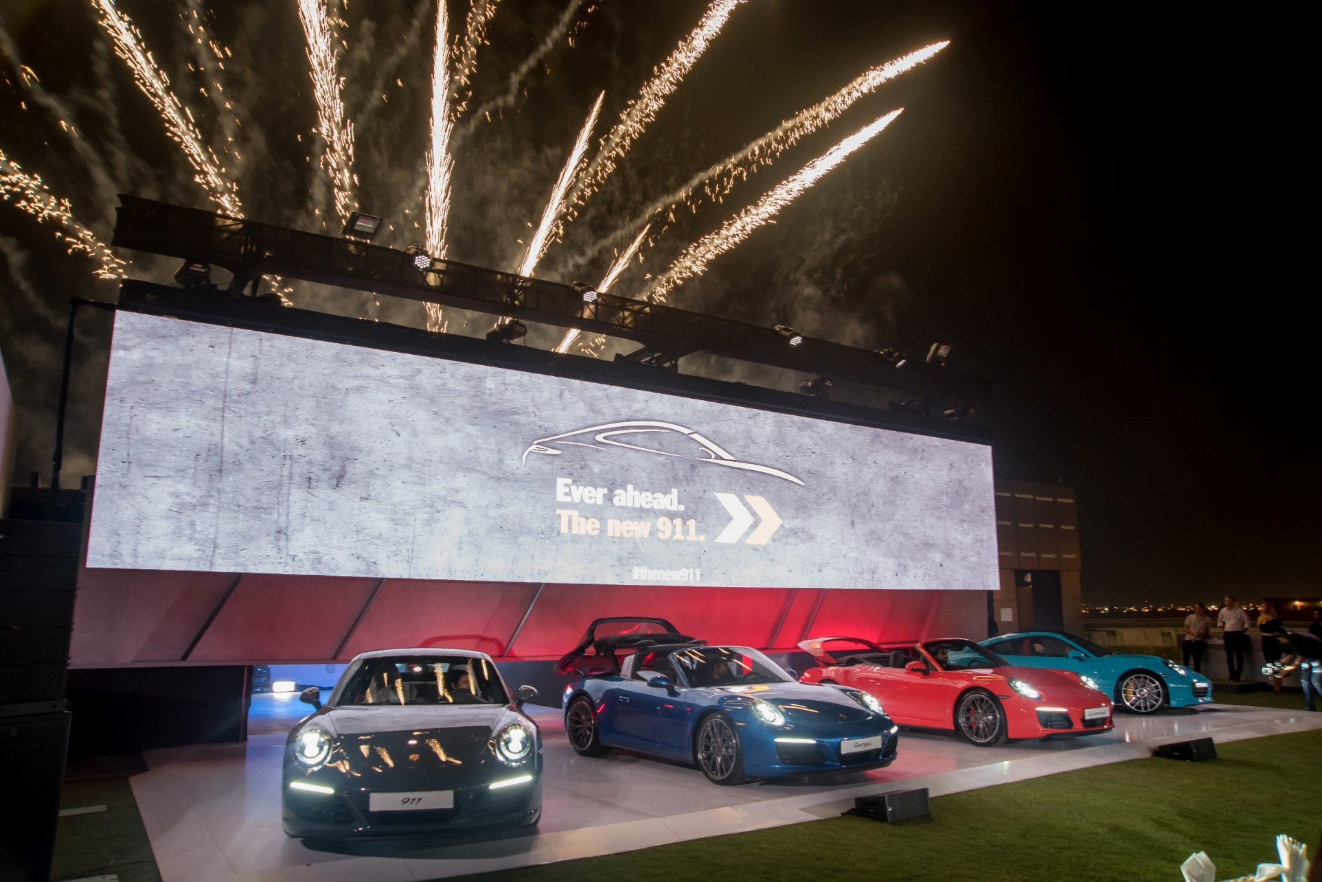 Unveiling of the new 911 range