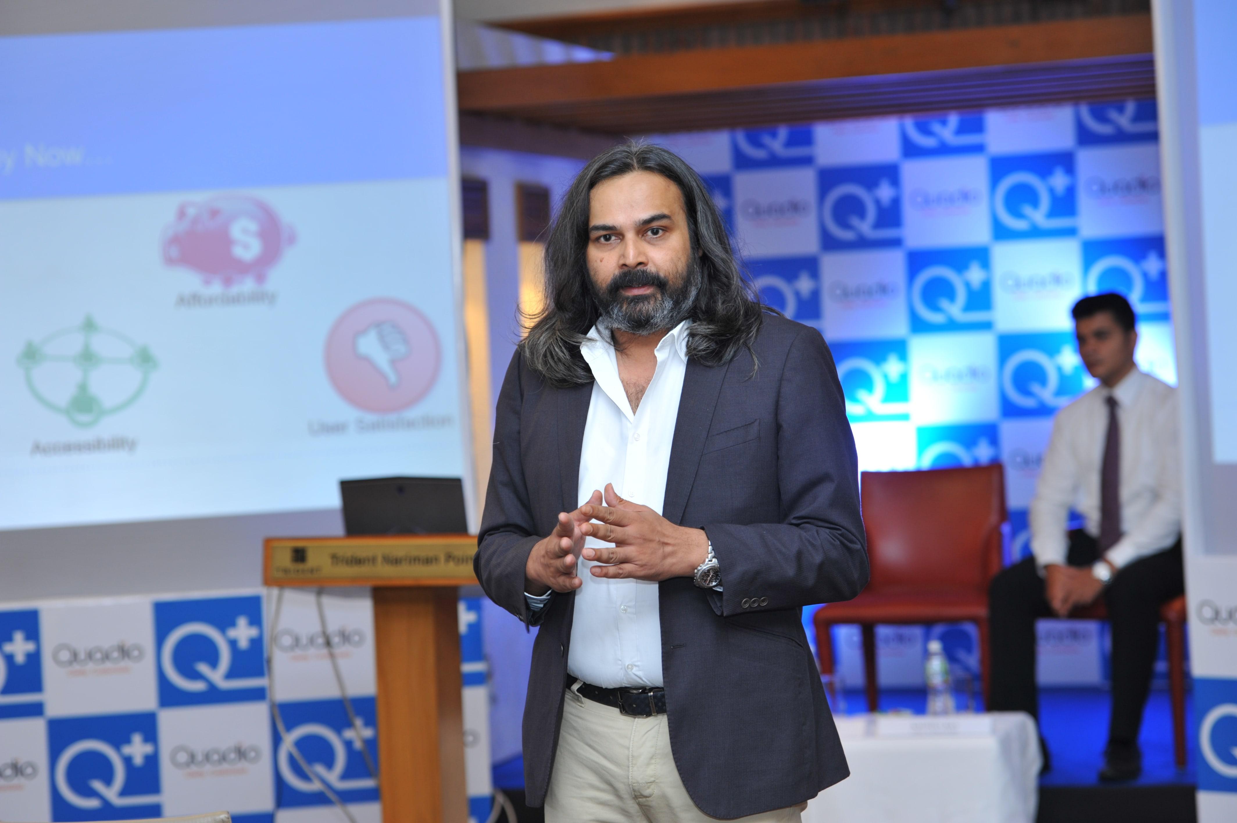 Neeraj Dotel  CEO  Quadio Devices Pvt Ltd