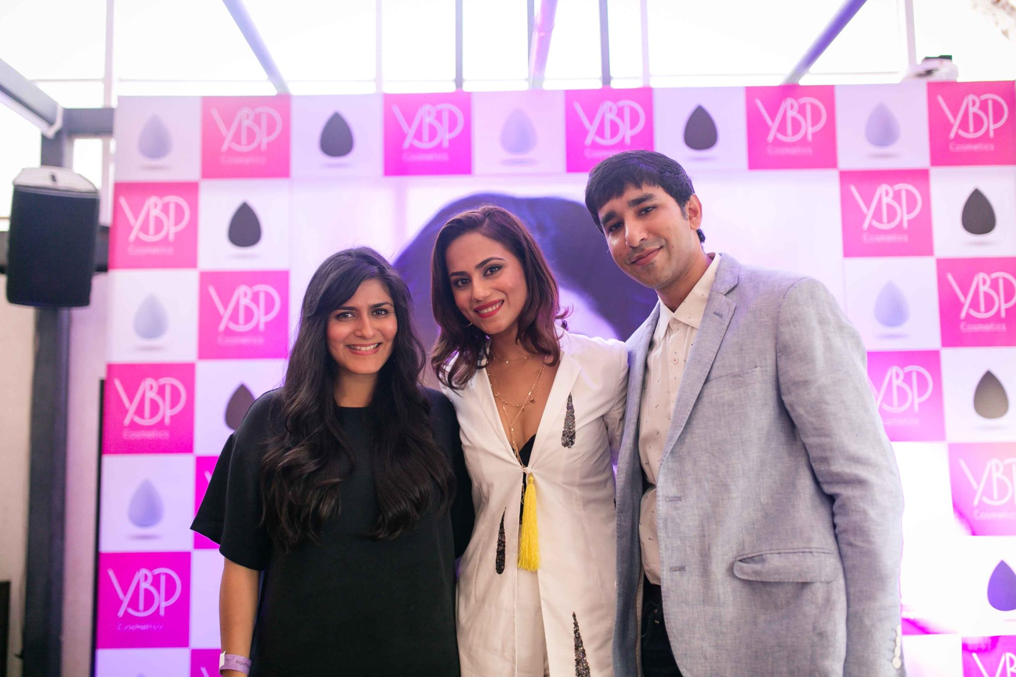 Makeup Artist Namrata Soni  Co-founder Payal Thaker Co-founder Satyen Thaker