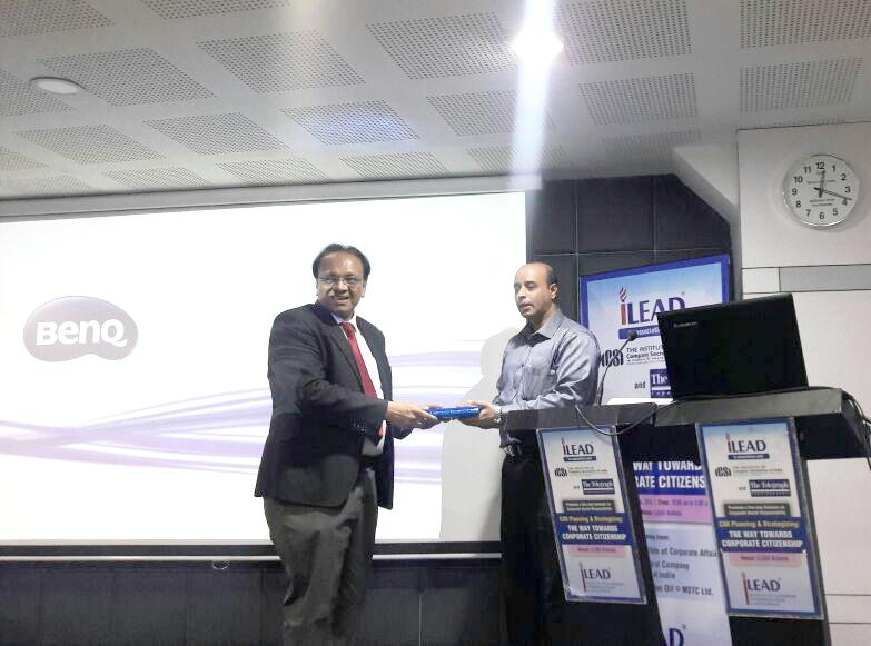 Mr Pradip Chopra   Chairperson  iLEAD & CA Arijit Chakraborty  ICAI