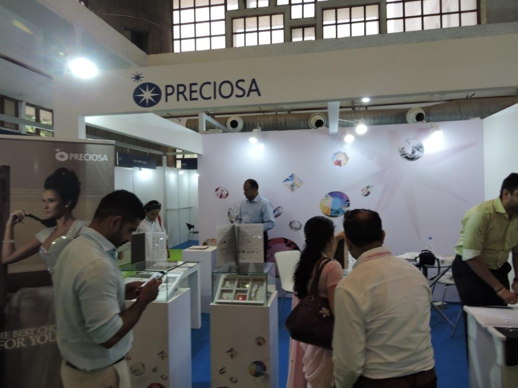 PRECIOSA at Fabric & Accessories Trade show  Pragati Maidan  New Delhi