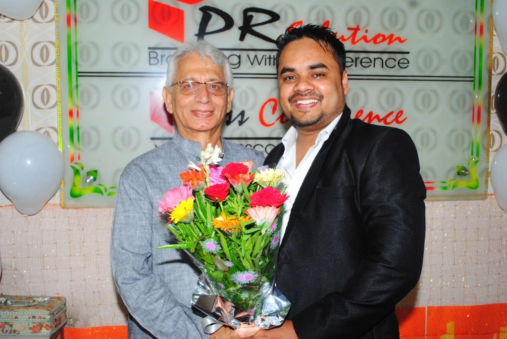 S Vijay Kumar Global CEO  PR Solution with Chief Advisor Vishnu Khanna