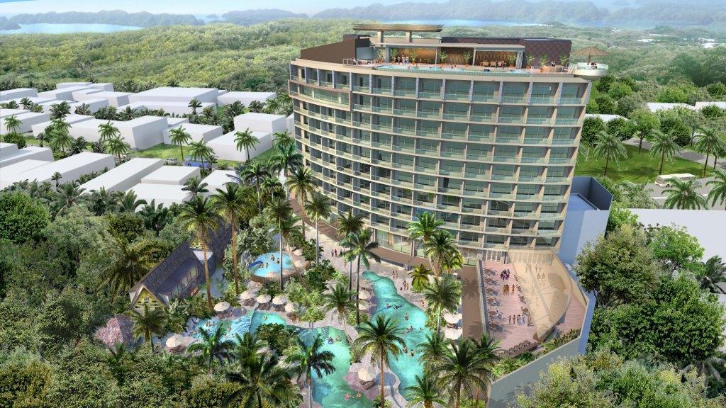 Sheraton Palau Resort Rendering