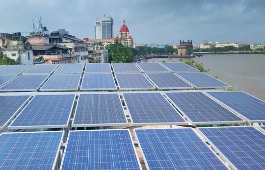 SolarTown 41kW Net-Metered Solar PV System  Radio Club Mumbai
