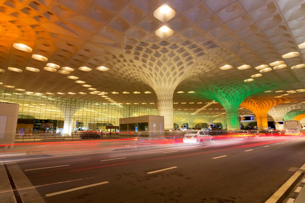 T2 in tricolour at Mumbai Airport_1