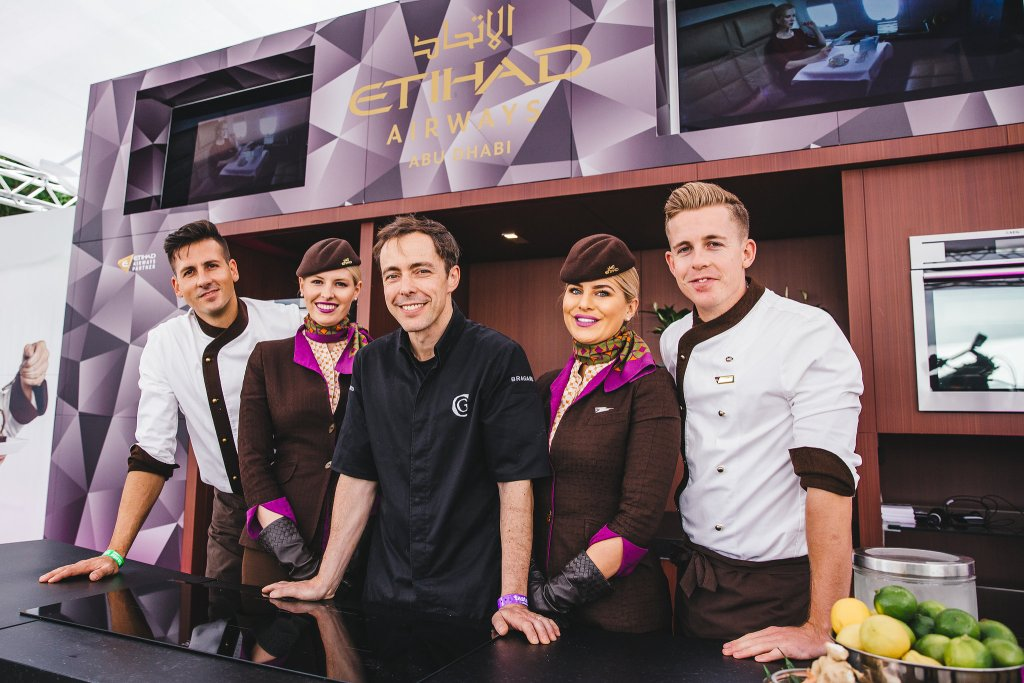 chef-pascal-aussignac-club-gascon-london-with-etihad-airways-inflight-chefs-and-cabin-crew