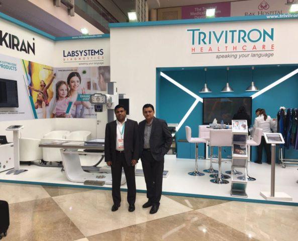 From left to right-Dr GSK Velu Chairman & Managing Director Trivitron Healthcare and Mr. Satyaki Banerjee Presiden_