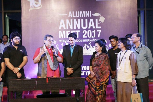 Students Alumni Came Together To Celebrate A Momentous 10 Year Anniversary Of Whistling Woods International Core Sector Communique