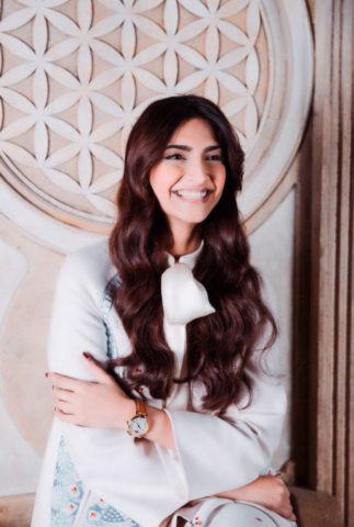 Sonam Kapoor as the Brand Ambassador of IWC Schaffhausen for India