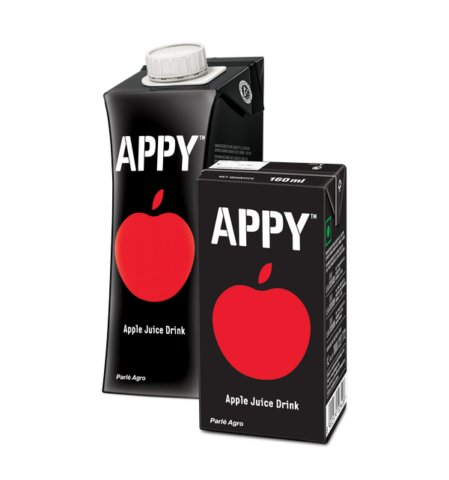 India's first apple drink, Appy gets a bolder, chic look - Core Sector  Communique