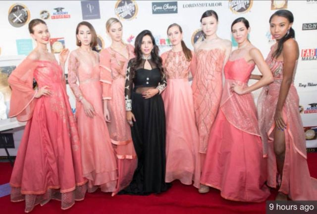 Designer Rosy Ahluwalia Became The First Indian Designer To Represent India At Tribute To Hollywood Haute Couture Oscar Fashion Show 2018 Core Sector Communique
